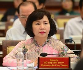 'Tuýt còi' công ty của nguyên thứ trưởng Kim Thoa