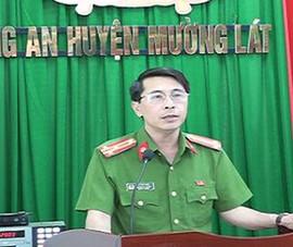 1 cựu trưởng công an huyện ở Thanh Hóa bị cách hết chức vụ