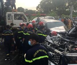 Tai nạn liên hoàn trên quốc lộ 1A qua Thanh Hóa, 1 người tử vong