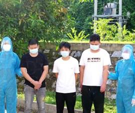Bắt 3 người Trung Quốc nhập cảnh trái phép