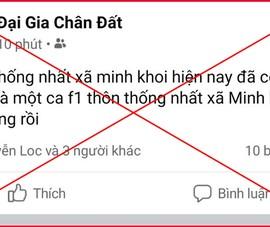 'Đại gia chân đất' lên Facebook viết tút 'đã toang rồi' bị xử phạt