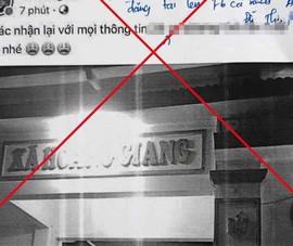 Người tung tin đồn '24 ca dương tính ở Nông Cống' bị đề nghị xử phạt
