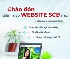 SCB ra mắt website mới thân thiện với người dùng