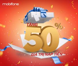 Tưng bừng đón Quốc khánh với khuyến mãi 50% từ MobiFone