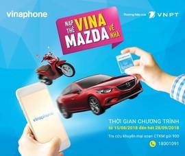 Thuê bao VinaPhone trúng thưởng 899 triệu đồng khi nạp thẻ