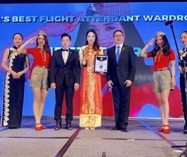 VietJet: 'Đồng phục tiếp viên đẹp nhất châu Á' 2018
