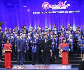 Du lịch Việt lần hai nhận giải Sao Vàng Đất Việt