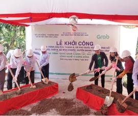 Dự án 'Cùng Grab Chung Tay - Xây Cầu Đến Lớp'