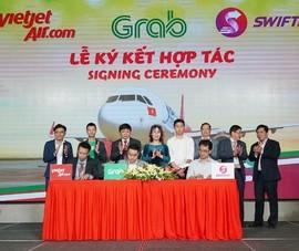 VietJet, Swift247 và Grab hợp tác toàn diện