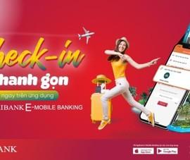 Check-in trực tuyến dễ dàng với Agribank E-Mobile Banking