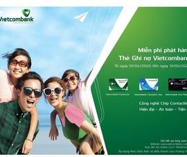 Vietcombank: Miễn phí phát hành thẻ ghi nợ năm 2020