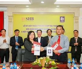 SHB và Hiệp hội doanh nghiệp nhỏ và vừa ký thỏa thuận