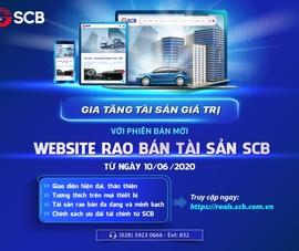 SCB ra mắt phiên bản mới website rao bán tài sản