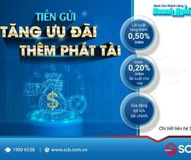 SCB: Tối ưu hoá lợi ích cho khách hàng