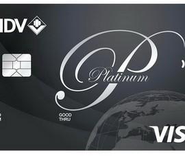 Trải nghiệm đẳng cấp thẻ tín dụng hạng Platinum