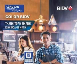 Nhiều ưu đãi khi đăng ký gói QR BIDV