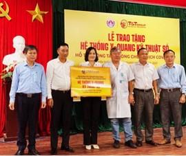 T&T hỗ trợ Thăng Bình - Quảng Nam thiết bị y tế chống COVID-19