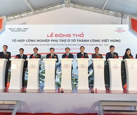 TC Motor khởi công dự án lớn tại Ninh Bình, Quảng Ninh