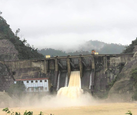 Thủy điện Hố Hô điều tiết nước đảm bảo an toàn vùng hạ du