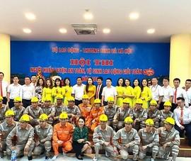 EVNNPC đạt giải nhất Hội thi người huấn luyện an toàn giỏi