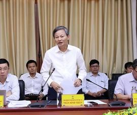 Tổng Giám đốc EVN làm việc về truyền tải điện tại Quảng Trị