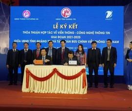 Quảng Trị hợp tác với VNPT xây dựng Chính phủ điện tử