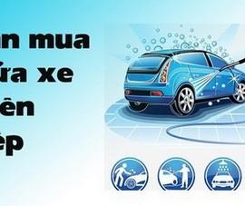 Tư vấn chọn máy rửa xe chuyên nghiệp giá rẻ chính hãng