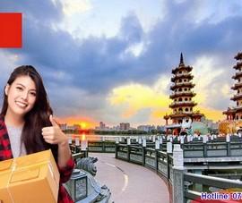 Gửi hàng đi Đài Loan giá rẻ, miễn phí đóng gói, hút chân không