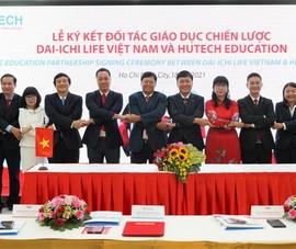 Dai-ichi Life, Hutech Education ký kết đối tác giáo dục
