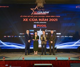 VinFast giành 3 giải nhất trong bình chọn 'Xe của năm 2021'