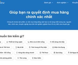 """Vietreview.vn - Website đánh giá bằng """"nội dung"""" thật"""