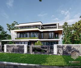 SABOHOME – Giải pháp thiết kế kiến trúc biệt thự trọn gói