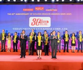 Vedan nhận giải Rồng Vàng 2020 - nỗ lực 30 năm phát triển