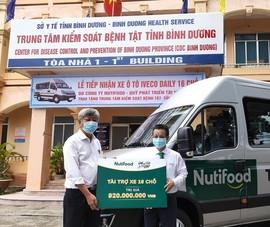 Quỹ phát triển tài năng Việt tặng xe cho Bình Dương chống dịch