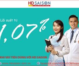 HD SAISON tiếp tục gói vay lãi suất thấp dành cho nhân viên y tế, giáo dục
