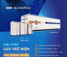 Giải pháp lưu trữ điện ESS cho doanh nghiệp, nhà máy điện