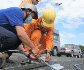 EVNSPC: Tăng cường hướng dẫn phòng tránh tai nạn điện mùa mưa bão