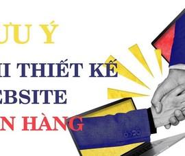 Thiết kế website bán hàng để kiếm thật nhiều khách online