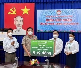 Vietcombank dành 5 tỉ đồng cho công tác chống dịch COVID-19 tại tỉnh Sóc Trăng
