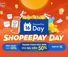 Đa dạng ưu đãi hấp dẫn tại sự kiện ShopeePay Day tháng 9