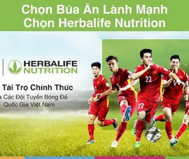 Herbalife lan tỏa thông điệp 'bữa ăn lành mạnh' từ tình yêu bóng đá
