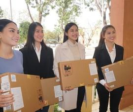 Tốp 3 Hoa hậu Việt Nam 2020 về Thanh Hóa trao tặng 3 căn nhà