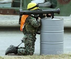 Đài Loan diễn tập bắn tên lửa chống tăng trên quần đảo Đông Sa