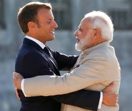 Pháp, Ấn Độ tuyên bố 'hành động chung' ở Ấn Độ Dương - Thái Bình Dương