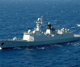 Đài Loan theo dõi tàu khu trục tên lửa của Trung Quốc phía đông nam hòn đảo