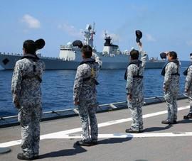 Hải quân Trung Quốc và Singapore tiến hành tập trận chung