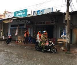 Người dân thị trấn Gành Hào sơ tán để tránh bão Tembin