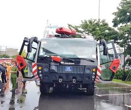 Xe chữa cháy triệu đô, trực thăng diễn tập tại Đà Nẵng