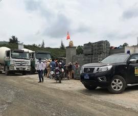 Dân chặn xe đòi doanh nghiệp trả tiền hỗ trợ ô nhiễm