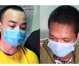 2 thanh niên đập phá hàng chục ô tô sau khi chơi ma túy
